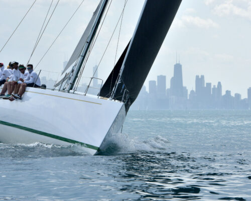 2019 Chicago to Mackinac Start